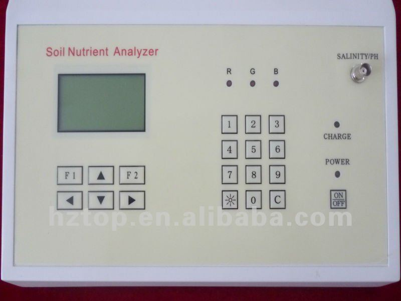 Soil Nutrient Tester(ph,NPK,salinity,ect.)
