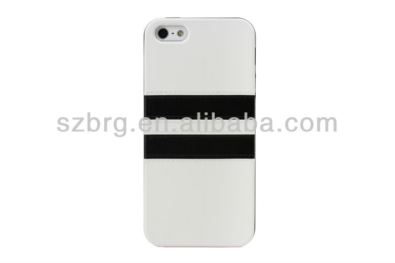 BRG Newest Fashional Leather Case For Iphone 5 with tpu cover, Wholesale Price Cases For Iphone 5