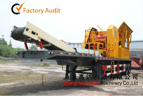 380t/h mining plant crushing plant mobile stone crusher