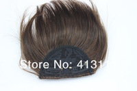 Накладная челка 1pcs/lot light brown fringe bangs for sale, 2T30 with 2 clips, easy clips, beauty style