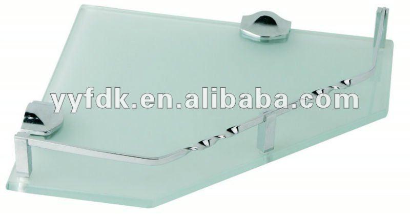 Feidike 55 4 salle de bains en verre tremp tag re d Etagere salle de bain en verre