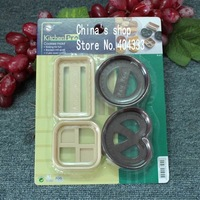 Формочка для печенья cookies mold 4pcs/set cookie cutters
