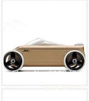 Best selling!! Mini Sport Car Germany Automoblox Diy Wooden Building Blocks Children educational toy Free shipping,1pcs