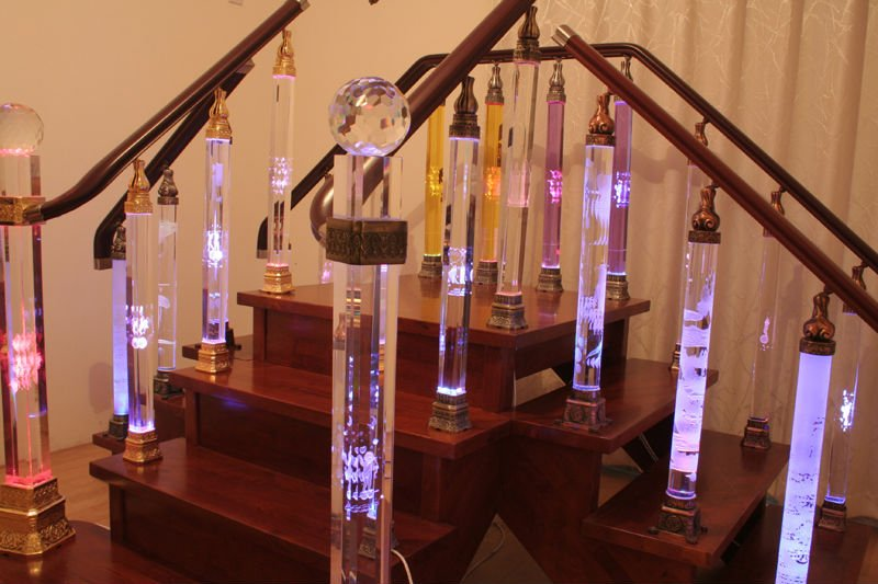 Crystal staircase crystal home decor buy crystal Crystal home decor