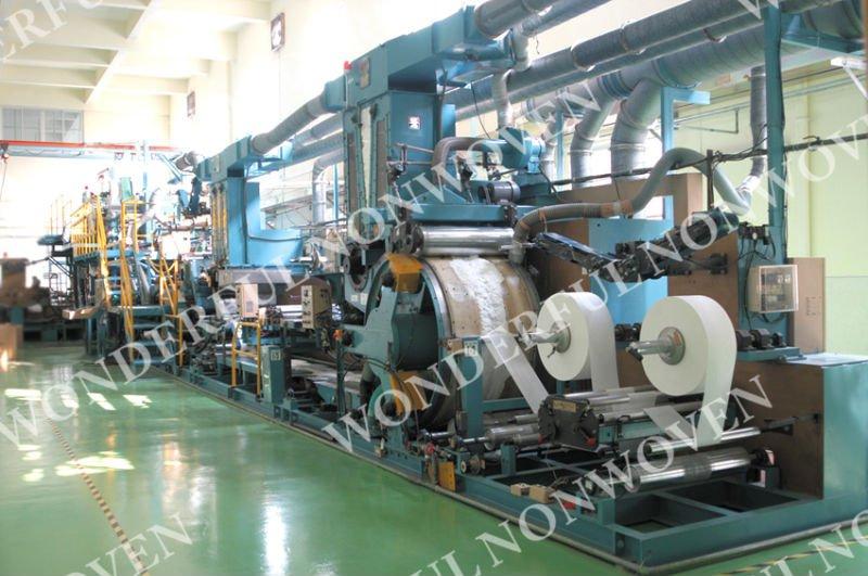 Our adult diaper & napkin production line