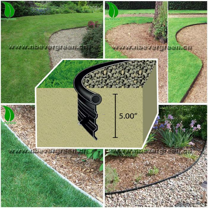 Noir en plastique jardin bordure-Clôtures, treillis et ...