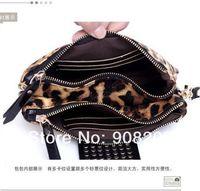 Маленькая сумочка South Korean Style Black Red Yellow Leopard Print Pink 4 Colors Messenger bag/Handbag/Shoulder Bag/Pubag