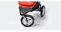 Детская коляска of shippment, good quality, factory direct-sell, baby jogger stroller with carry cot and three bigger wheels