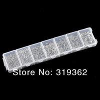 Соединительные кольца для ювелирных изделий 1 Box Open Jump Rings 3mm-8mm /fashion accessory jewelry DIY