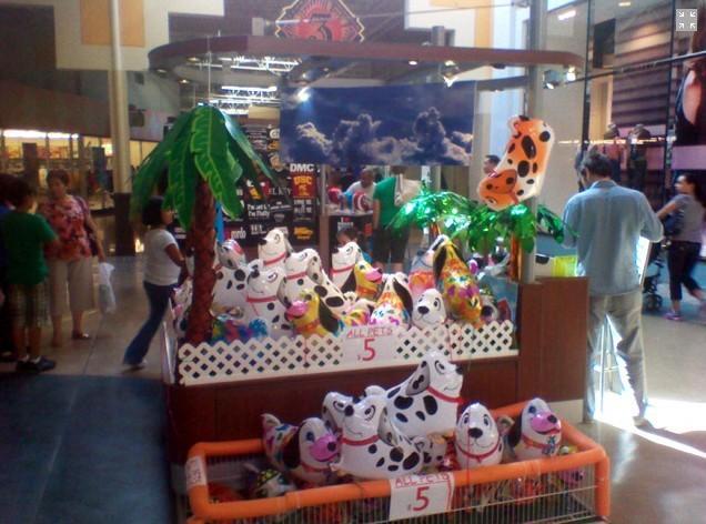 продажи! 6pcs/много милых птиц 35 * 35 см опора стержень шары партия воздушные шары, Детские игрушки 6 видов цветов для каждого из них