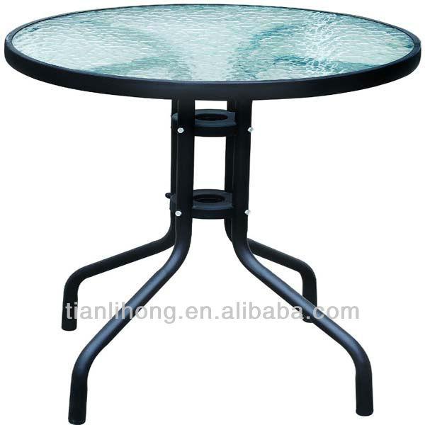 Cheap Folding Black Glass Dining Table View Folding Dining Table TLH Produ
