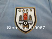 Колготки для мужчин , Uruguay home blue 13/14 football shirt