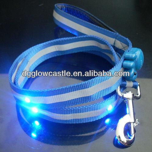 Green FPC Flashing Jewel LED Pet/Dog Leash