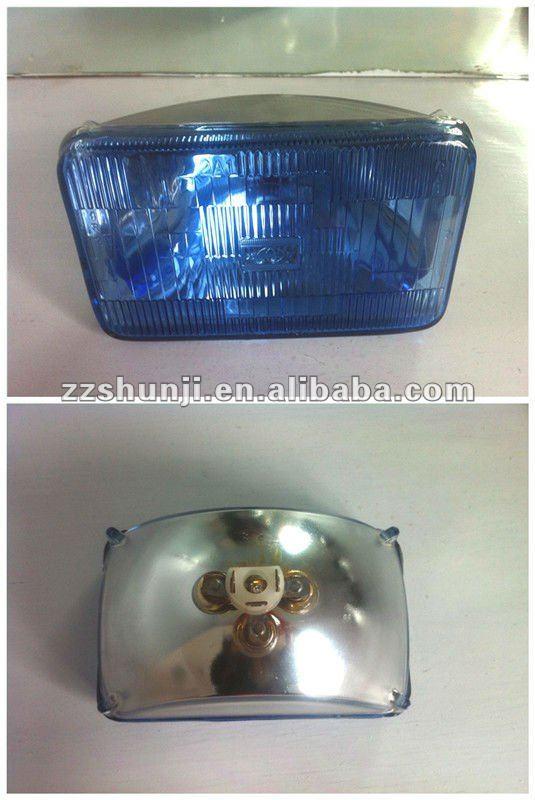 "auto 7"" square sealed-beam crystal headlight"
