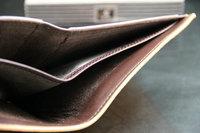 2013 NEW  Men  brief paragraph Stripe Short PU Matte leather  Wallet Card Purse Pocket  free shipping WBG0462