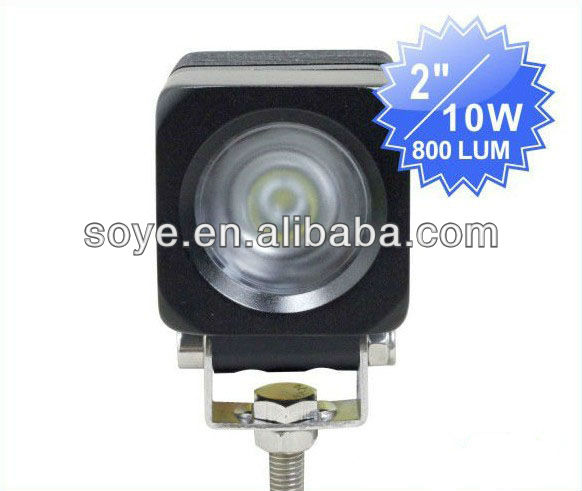 2 inch 10w high intensity cree led work light accessories for cars