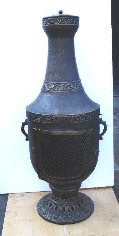cast iron chiminea outdoor fireplace buy cast iron