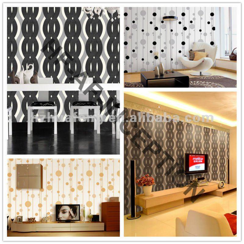 New 3D PVC Wallpaper Sale