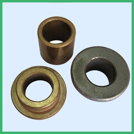 Sintered Bronze Bushing Flanged Bushing Bearing/alloy copper bush/powder metallurgy bush,oilite brass bearing china manufacturer