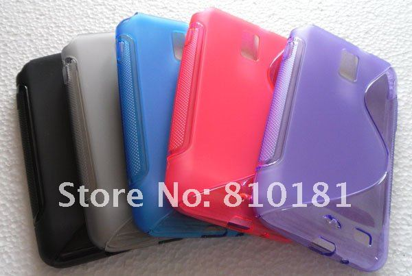 NEW S Line TPU Gel Case for Samsung Celox 4G LTE Galaxy S2 i9210 E110s