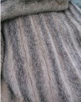 Женская одежда из меха long section of integral skin mink fur coat jacket for top ladies
