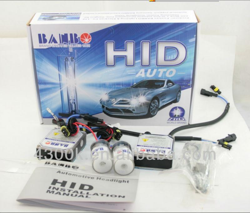 auto headlights waterproof 9007 9004 h4 h13 hi/lo hid xenon bulb china