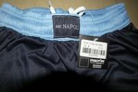 Наполи прочь футбол shortsnapoli 12/13 голубой футбольный брюки Вышивка логотипа тайский качество смешанного порядка