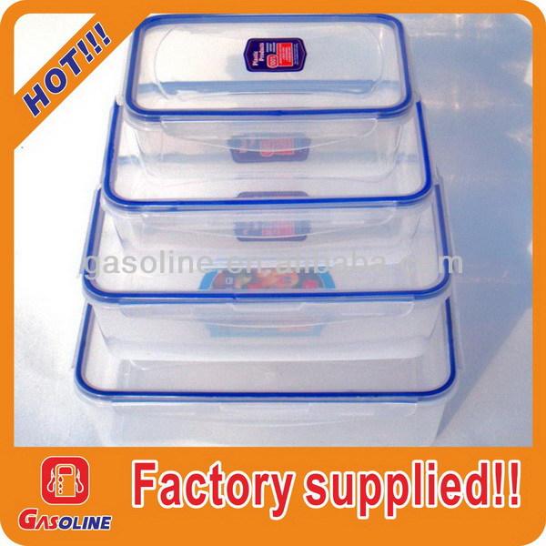 !square plastic container#011