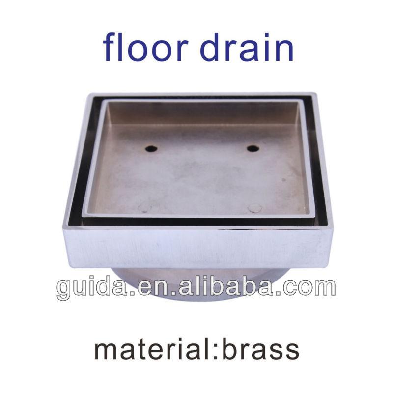 Quad Rectangular Stainless Steel Floor Drain With