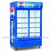 Double Door Cooler with Danfoss Compressor, Available in Volume of 400 to 1,300L,.jpg