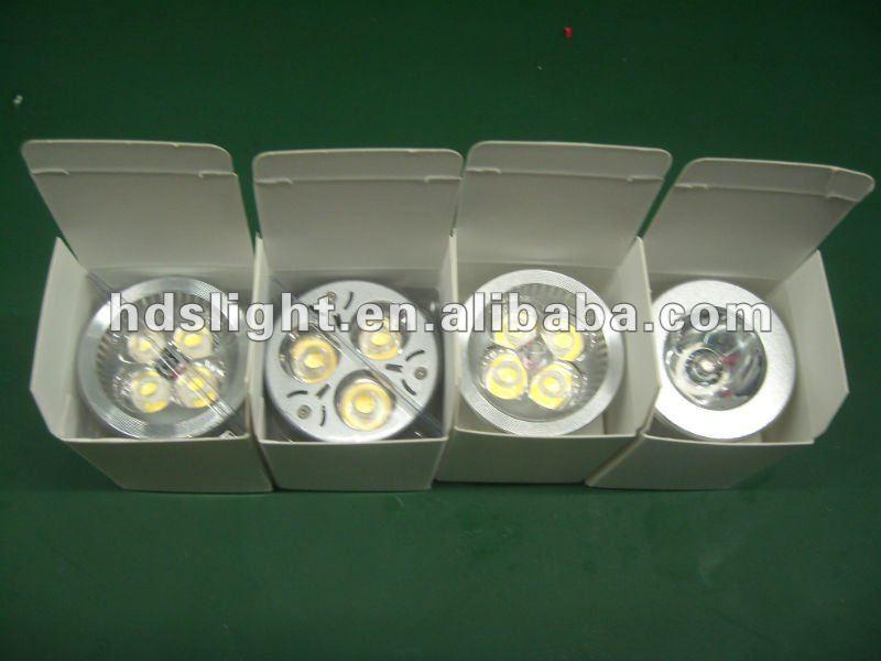 Lampada dicroica, led 5w 5x1walt Aluminio 220v gu10 spot