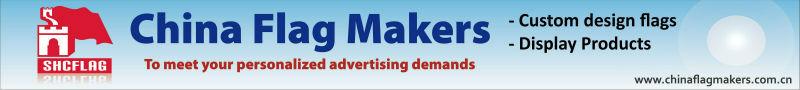 Advertising custom design horizontal pop up banner