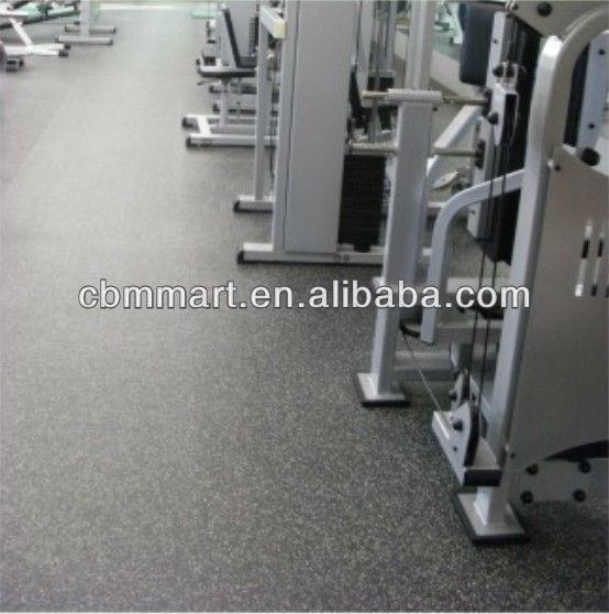 seamless rubber flooring