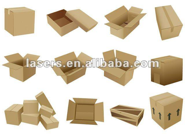 laser cut cardboard box 2