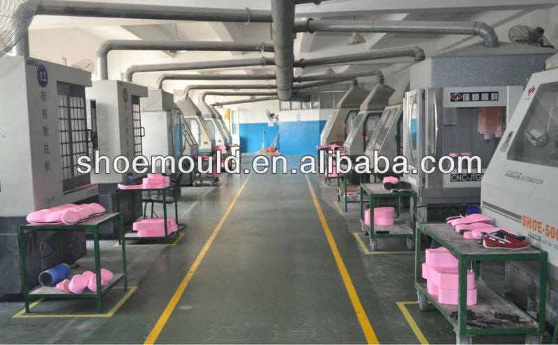 PVC Airblowing Sandals Mould PVC Full Plastic Shoe Mold