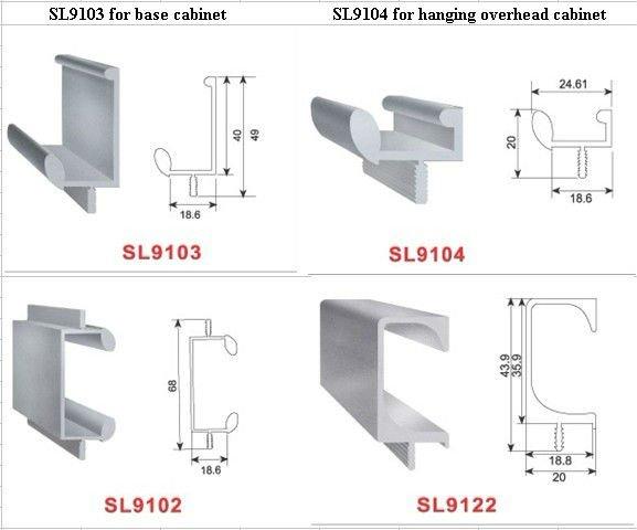 Kitchen Aluminium Profile Handle Buy Kitchen Aluminium Profile Handle Aluminium Profile