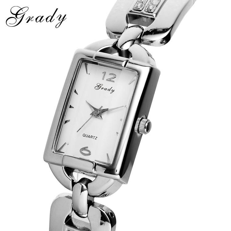 ГРЕЙДИ золотые часы новый женские часы водонепроницаемые 3atm водостойкой наручные часы 18 К золото кварцевые часы
