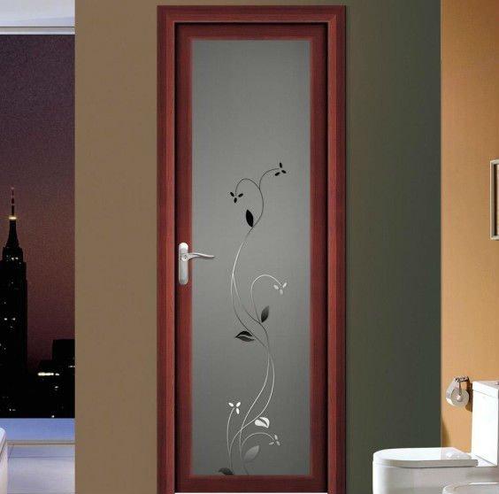 Aluminio ba o dise os de puertas de vidrio esmerilado - Porte vetement salle de bain ...