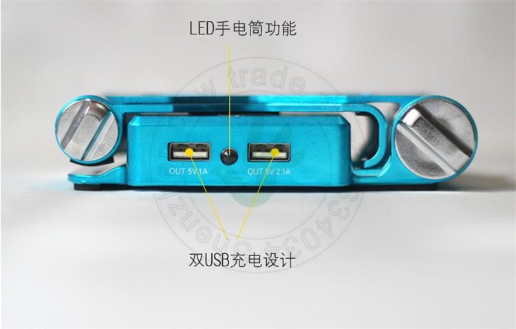 18650 мощность банк Банк универсальный аккумулятор обеспечивают портативный аккумулятор для ежевики htc ipad iphone