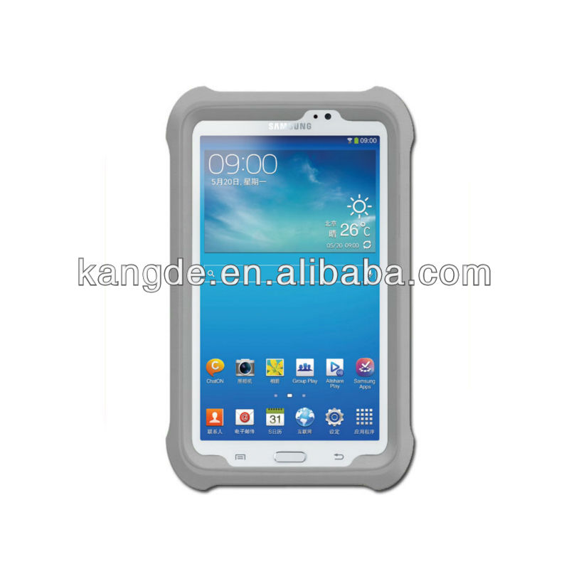gumdrop silicon case for Samsung Galaxy Tab3 7.0 shock resistant case for tablet 7 inch