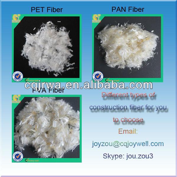 PET Plastic Composite Material for Concrete