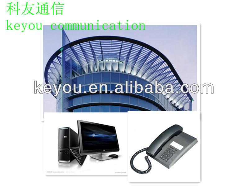 Auto- supporto esterno 2 core filo del telefono