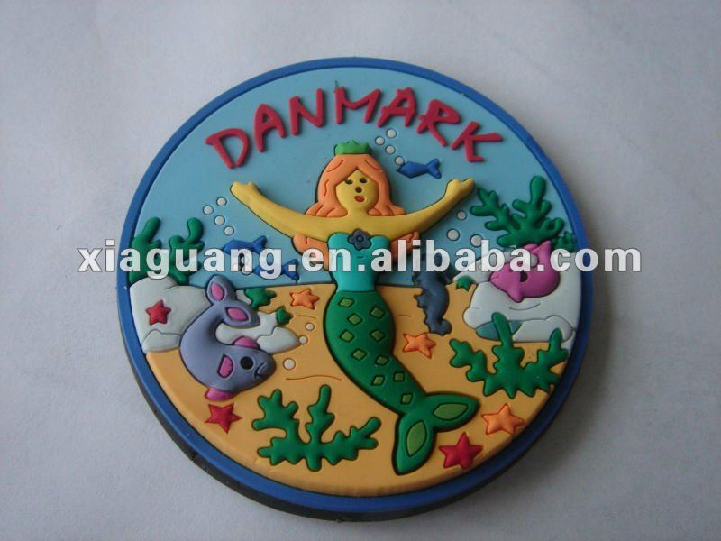 Promotional Advertising Gift Souvenir Flexible Rubber 2D or 3D Soft PVC Fridge Magnet
