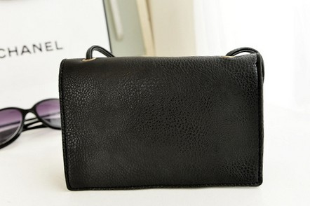 PU leather phone bag with mirror
