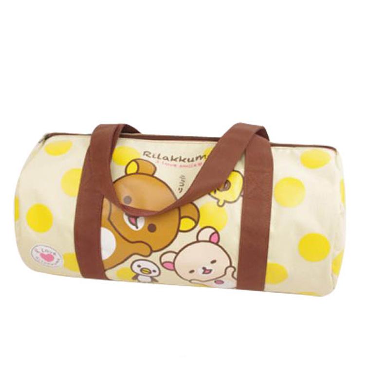 Kids cartoon duffle bag travel bag