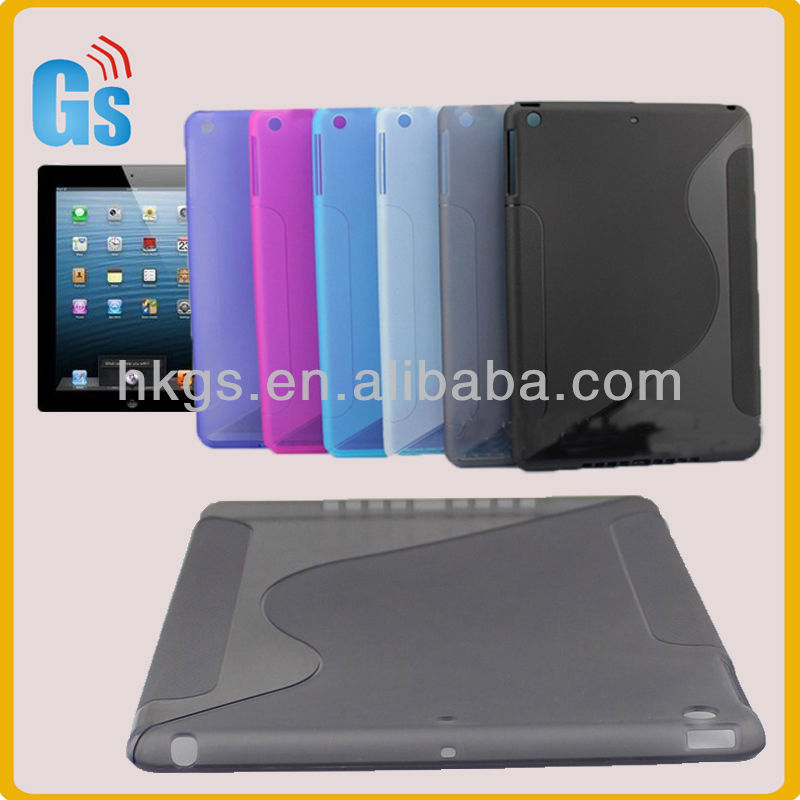 Multi Colors For Ipad 5 S Line Soft Tpu Case Cover Skin