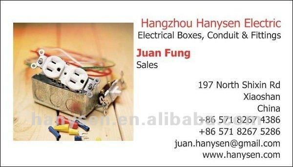 UL 1Gang 5Hole Round Electrical Box