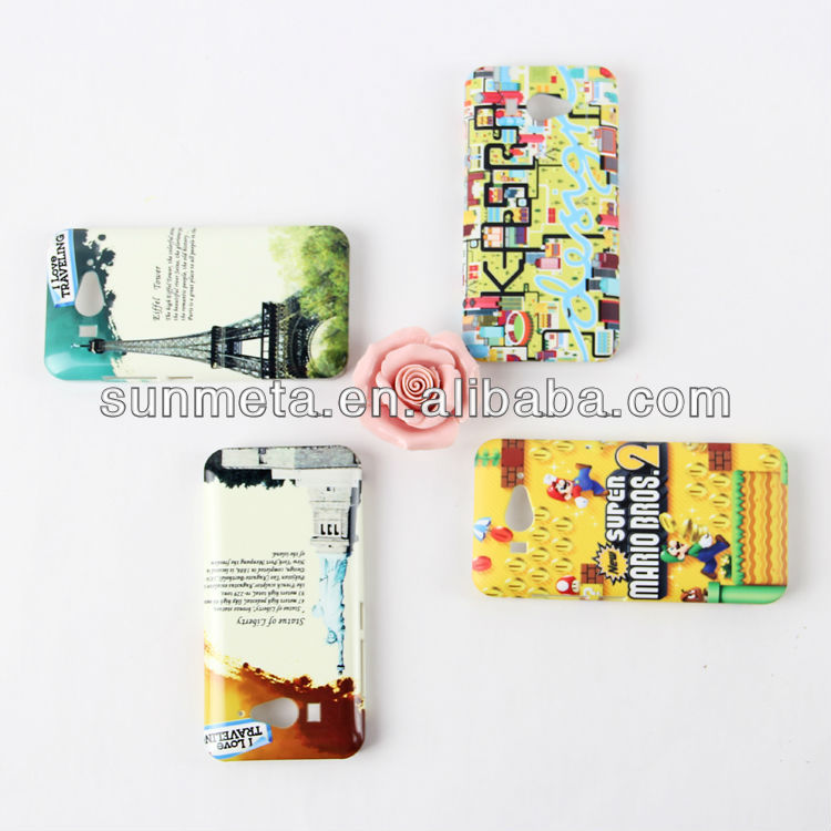 Sunmeta custom blank sublimation phone cases---manufacturer