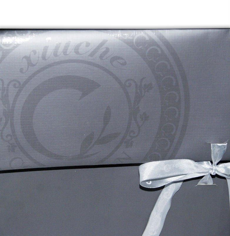 Export ribbon tie gift bags custom make