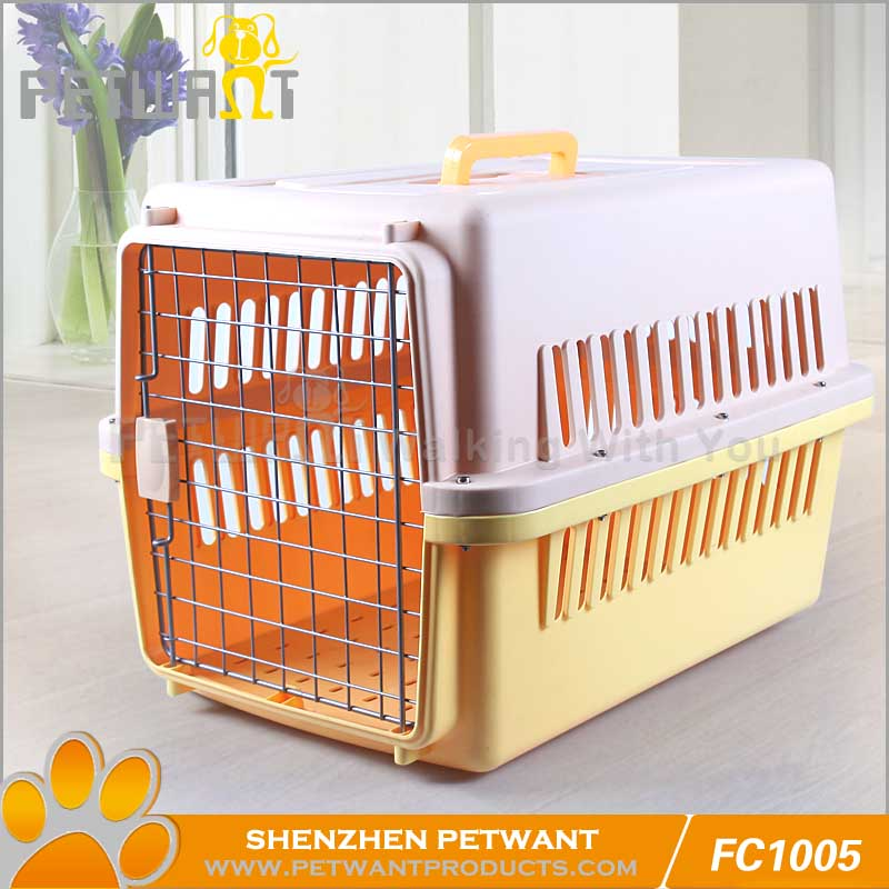 Used aluminum dog boxes/plastic dog kennels